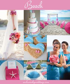 Beach Wedding | #exclusivelyweddings