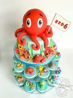 Cupcake sea theme