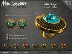 Maxi Gossamer Rings - Khaleesi's Ring Of Power