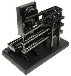 Zeitmaschine - Eine geniale Konstruktion zur Anzeige der Uhrzeit