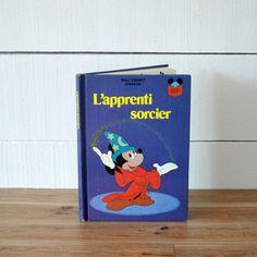 """9 /""""x 7/"""" partie Micky Mouse Donald Disney sac cadeau avec étiquette medium 22,5 cm x 17,5"""