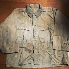 1942年 日本陸軍の防暑襦袢 映画「硫黄島からの手紙」でも着用されていました。  #ビンテージ#日本軍#Japanarmy#襦袢#shirt#vintageshirt#古着#昭和#陸軍 #vintagewear#vintagelove#vintagestyle#army#military#Japan#襤褸#刺し子#古道具#古#旧日本軍#日本#昭和17年#antique#40s#ww2#大戦#硫黄島からの手紙#夏用#movie