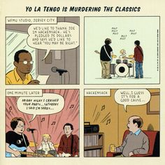 Yo La Tengo is murdering the classics de Adrian Tomine