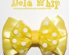 Living with the Land Hair Bow by MickeyWaffles on Etsy