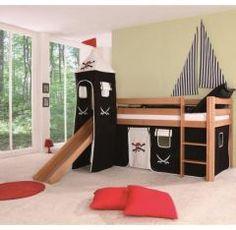 Lit cabane pour aménager une chambre de pirate - Meubler une chambre d'enfant avec un lit cabane - Décorer