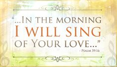 Free I Will Sing eCard - eMail Free Personalized Scripture Cards Online