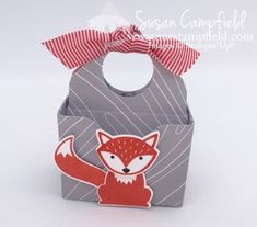 Splitcoaststampers FOOGallery - Foxy Envelope Punch Board Treat Tote