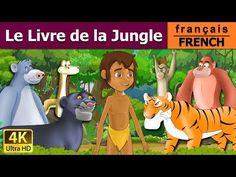 Le Livre de la Jungle - Histoire pour Enfants - Contes de Fée - 4K UHD - French Fairy Tales - YouTube