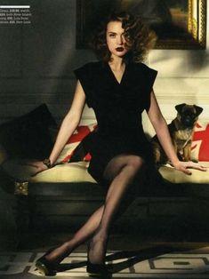 #Glamour pose #vintage #noir femme fatale