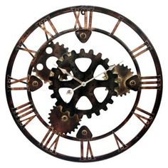 I like this clock, but the room might be getting crowded.  It's more of a after thought. I thought maybe I could put it over the dresser.