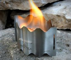 Nice and versatile and might be a good backup. Vertex Ultralight Backpacking Stove