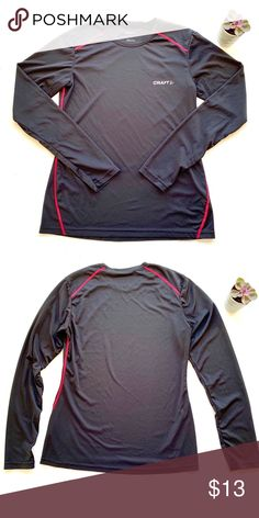 Craft Workout Long Sleeve Shirt Craft long-sleeve shirt. Soft stretch  jersey delivers 4fb5506a4