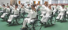 Wheelchair Tai Chi has been shown to bring health benefits to those confined to wheelchairs, including improvements to the legs.  #TaiChi #Health