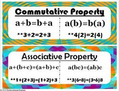 Classroom Freebies Too: FREE Properties of Equality Posters Classroom Freebies, Math Classroom, Classroom Ideas, Classroom Labels, Classroom Tools, Future Classroom, Math Charts, Math Anchor Charts, Math Resources