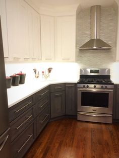 stainless kitchen cabinet ge slate appliances just got these for our new kitchen 2466