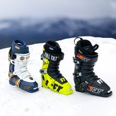 Full Tilt B&E 2019 , Full Tilt Drop Kick Olympic Green 2019 and the Full Tilt Classic 2019 are some of the awesome mens line-up of models from Full Tilt ski boots. Proven design, custom fitting Intuition Liners: the best in the world ride Full Tilt for a reason. Get yours now for 30% off at our shop outlet.