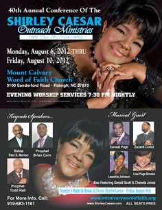 Gospel Singer Shirley Caesar's Upcoming Conference Guests May Be Questionable To Attendees | AT2W