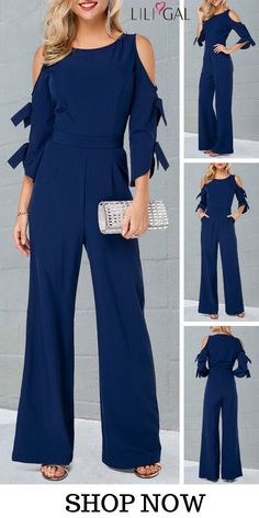 Upgrade your wardrobe and try new styles this year Blue Jumpsuits, Jumpsuits For Women, Trendy Outfits, Fashion Outfits, Womens Fashion, Fashion Trends, Vaquera Sexy, Jumpsuit Outfit, Overall