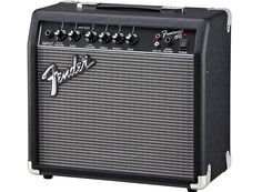 Fender Amp 15G Frontman is one of the most affordable compact solid state amps you can get. Check out our review for more info.