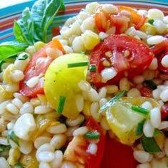 Pasta with Fresh Tomatoes and Corn - Allrecipes.com