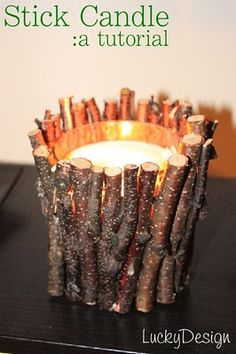 Perfect for a counselor's candle light candle.