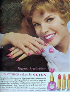 Heart-throb colors | Flickr - Photo Sharing!  From Seventeen,  July 1961