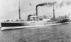22 februari 1942 Het vrachtschip ss 'Pijnacker Hordijk' (1914)  van de KPM, op weg van Tjilatjap naar Oosthaven (Padang),   http://koopvaardij.blogspot.nl/2015/02/22-februari-1942.html