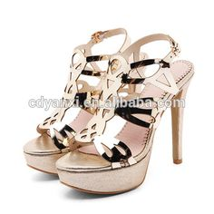 cad36c3c4 2017 Fashion Ladies Sexy High Heel Summer Sandals