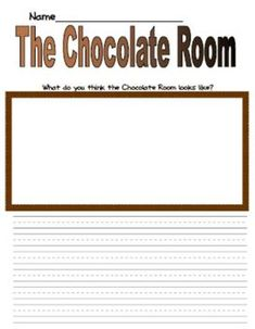 charlie and the chocolate factory common core first grade writing  common core charlie and the chocolate factory first grade