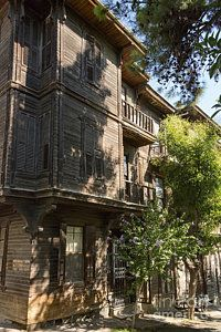Istanbul Heybeliada Photograph - Wood Frame House by Bob Phillips