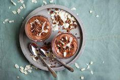 Čokoládový mousse skokosovým krémem – Jezte sláskou