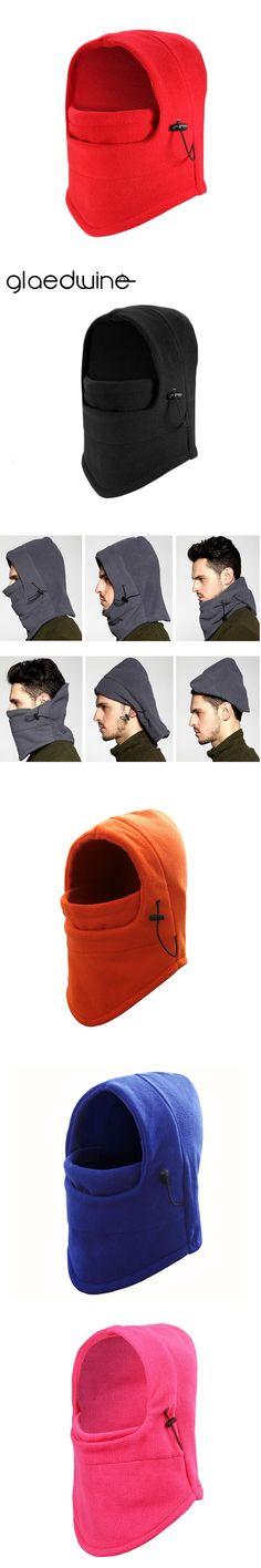 Glaedwine warm winter hats Wool hats for men bandana skull balaclava ski snowboard neck warmer face Wargame Special Forces mask