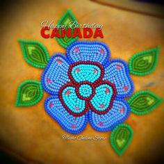 Indian Beadwork, Native Beadwork, Native American Beadwork, Beaded Flowers Patterns, Beaded Earrings Patterns, Beading Patterns, Seed Bead Art, Seed Bead Flowers, Beadwork Designs