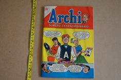 Vintage 1950's - Spanish Language Comic Book - Archi - Feb 1959 - February in Spanish by TheMercerStreetHouse on Etsy