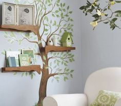Decorar la pared con un árbol #1000detalles1000ideas