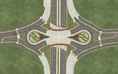 The unique double roundabout has saved many buildings, reduced accidents by 78%, reduces carbon emissions and is much more pedestrian friendly, all the while saving the city money.