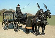 Victorian hearse.