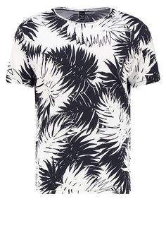 Replay Print T-shirt - black/white for £54.99 (09/02/17) with free delivery at Zalando