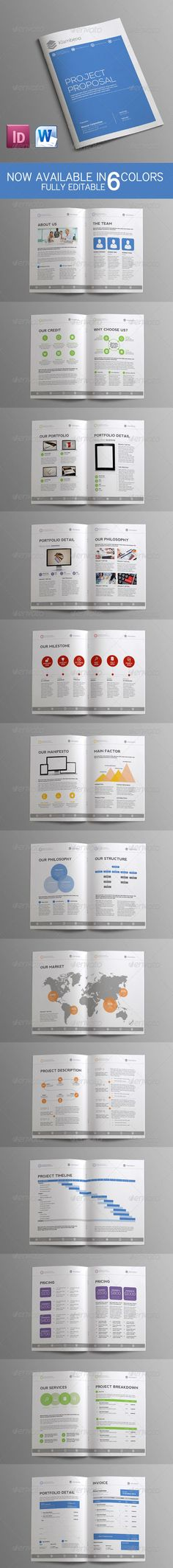 Sleman Clean Proposal Template Proposal templates, Proposals and