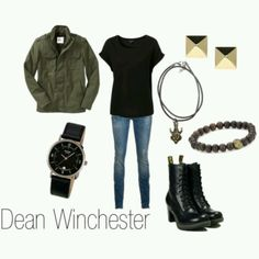 Dean Winchester style....OMG, so getting this outfit!