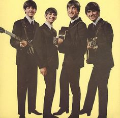 Most popular tags for this image include: the beatles, 60s, george harrison, john lennon and ringo starr