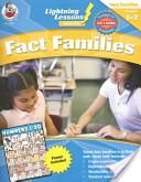 Kids Workbook:NEW-Lightning Lessons Instant Units: Fact Families, Grades 1-2 (FREE SHIPPING)-$11