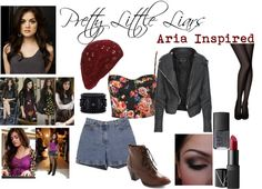 """""""Pretty Little Liars (Aria Inspired)"""" by bridget-smith on Polyvore"""
