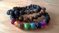 You may be wondering where do lava stone rocks come from? Lava Stone is an igneous volcanic rock. Healing Bracelets, Gemstone Bracelets, Handmade Bracelets, Gemstone Jewelry, Handmade Jewelry, Jewelry Necklaces, Chakra Bracelet, After Life, Crystals And Gemstones