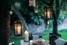 Summer is the perfect time to bring family and friends together for a fanciful warm weather celebration. Here are all the ingenious hacks you need to know to guarantee your party is fun, easy and hiccup-free. Lawn Party, Party Lights, Outdoor Entertaining, My Dream Home, The Great Outdoors, Feng Shui, Candle Sconces, Outdoor Spaces, New Homes