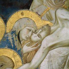 Pietro Lorenzetti - Deposizione di Cristo dalla Croce (Storie della Passione di Cristo), dettaglio - 1326-1329 - affresco - Assisi, Basilica inferiore di San Francesco