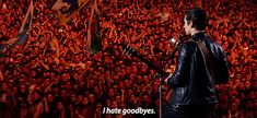 I hate goodbyes... Alex Turner, Arctic Monkeys