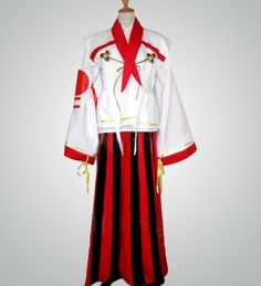 Red and White Kings sengoku basara Cosplay Costume