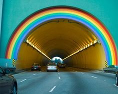 The Rainbow Tunnel on the Golden Gate