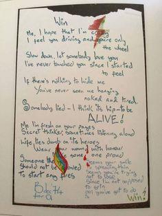 Win - Lyrics by David Bowie